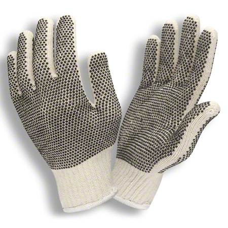 Cordova™ Two Sided PVC Dot Machine Knit Glove - Large