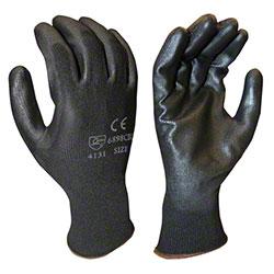 Cordova™ Black Polyester/Polyurethane Machine Knit Gloves