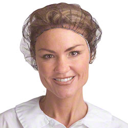 Cordova™ White Nylon Hairnet - 21""