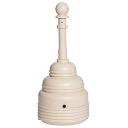 Eagle SafeSmoker™ Cigarette Receptacle - 4 Gal., Beige