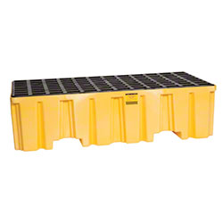 Eagle Two Drum Pallet - Yellow Drain