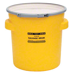 Eagle 20 Gallon Salvage Drum w/Metal Lever-Lock Band