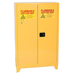 Eagle Tower™ 45 Safety Cabinet w/Legs - Manual Close