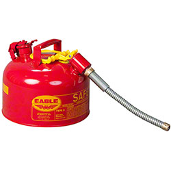 "Eagle 2 Gallon Flammables Type II Safety Can w/ 7/8"" Spout"