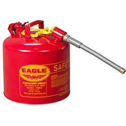 "Eagle 5 Gallon Flammables Type II Safety Can w/ 7/8"" Spout"