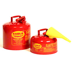 Eagle 2 Gallon Flammables Type I Safety Can w/Funnel