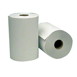 "Empress™ Hardwound Towel - 8"" x 800', White"