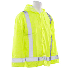 ERB® Aware Wear S373 Rain Jacket w/Attached Hood