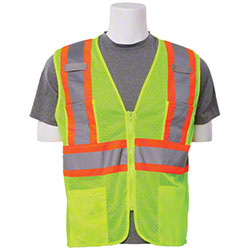 ERB® Aware Wear S383P Class 2 Mesh Contrasting Trim Vests