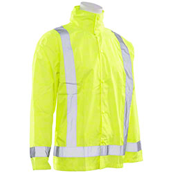 ERB® Aware Wear S373D Rain Jackets w/Detachable Hood
