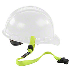 Ergodyne Squids® Elastic Hard Hat Lanyard Clamp - HV Lime