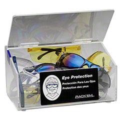 Rack'Em™ Clear Safety Glass/Ear Plug Dispenser