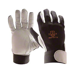 Impacto® Anti-Impact Full Finger Pearl Leather Glove