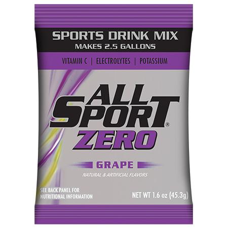 All Sport Zero Grape Powder - 2.5 Gal.