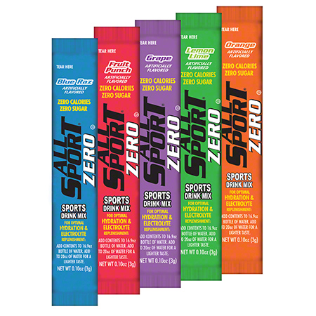 All Sport Zero Variety Pack Powder Stick