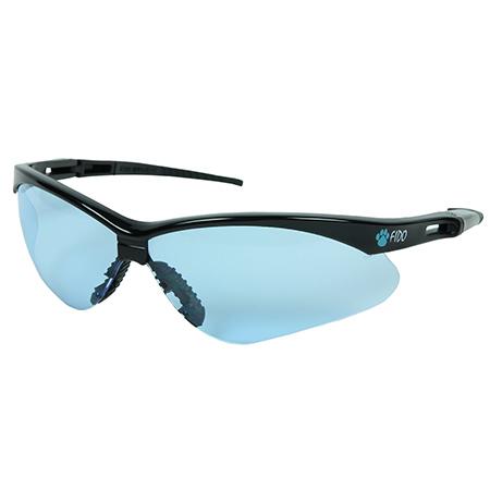 Fido Safety Glasses - Blue Lens