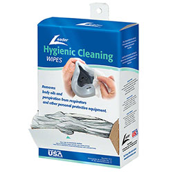 Leader® Hygienic Cleaning Wipes For PPE - 100 ct.