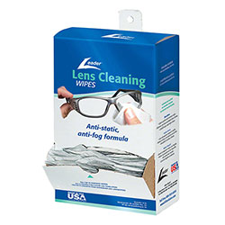 Leader® Lens Cleaning Wipes Dispenser - 100 ct.