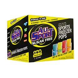 All Sport Variety Pack Sugar Free Freezer Pops