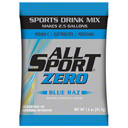 All Sport Zero Blue Raz Powder - 2.5 Gal.