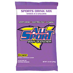 All Sport Body Quencher Grape Powder - 2.5 Gal.