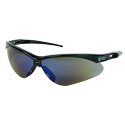 Fido Safety Glasses - Blue Mirror Lens