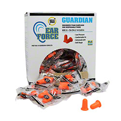 Guardian Cordless Disposable Foam Earplugs - 200 Pair