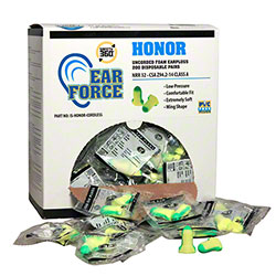 Honor Cordless Disposable Foam Earplugs - 200 Pair