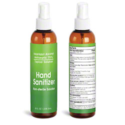 Spray Hand Sanitizer - 8 oz.
