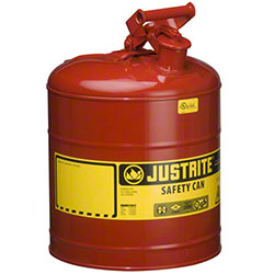 Justrite® Type I Steel Safety Can For Flammables - 5 Gal.