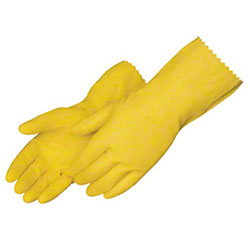Liberty Yellow Household Unsupported Latex Gloves