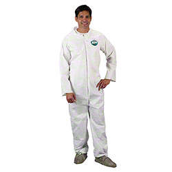 Lakeland MicroMax® NS CTL426 White Coveralls