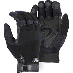 Majestic Armor Skin Mechanics Glove w/PVC Double Palm