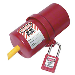 Master Lock® 488 Rotating Electrical Plug Lockout Device