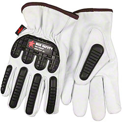Goatskin Leather 36136HP TPR Drivers Gloves