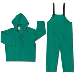 Dominator Green Rain Suits