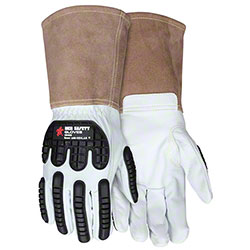 Leather 48406 Welding Gloves w/Padded Palm