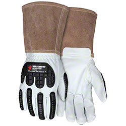 Kevlar® Lined 48406K Leather Welding Gloves
