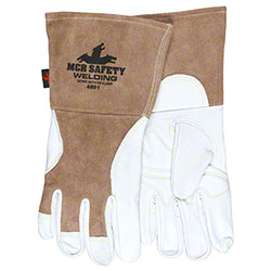 Memphis 4891 Welding Gloves w/Split Gauntlet Cuff