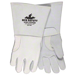 Pearl Gray 49750 Elkskin Welding Gloves