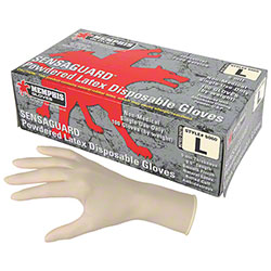 SensaGuard™ Powdered Latex Disposable Glove - Medium