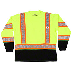 Hi-Visibility Class 3 Long Sleeve T-Shirts