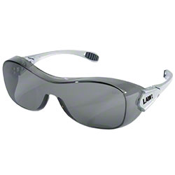Law® Over The Glass Safety Glasses - Gray Lens