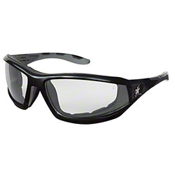 Reaper 2 Safety Glasses - Clear Lens/Black Frame