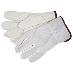 Memphis 32056 Industry Grade Unlined Leather Drivers Gloves