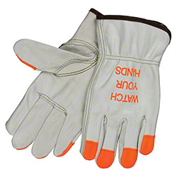 Memphis 3213HVI Watch Your Hands Leather Drivers Gloves