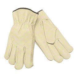 Memphis 3401 Unlined Industry Grade Pigskin Drivers Gloves