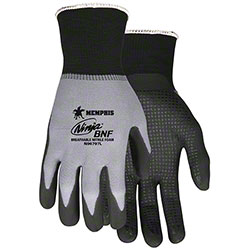 Memphis N96797 Ninja® BNF Dipped & Dotted Nitrile Gloves