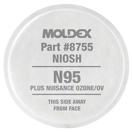 Moldex® N95 w/Nuisance Level Organic Vapor Relief Filter