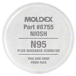Moldex® N95 w/Nuisance Level Organic Vapor Relief Filter